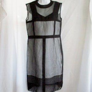 NWT New Set CELINE FRANCE SILK MESH Dress + Cami